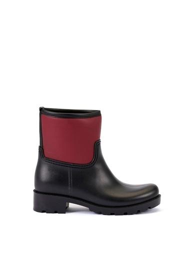 Esem ESEM B0007 Yağmur Botu Kadın Ayakkabı  Bordo
